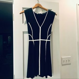 Black and White French Connection Sexy Dress sz. 4